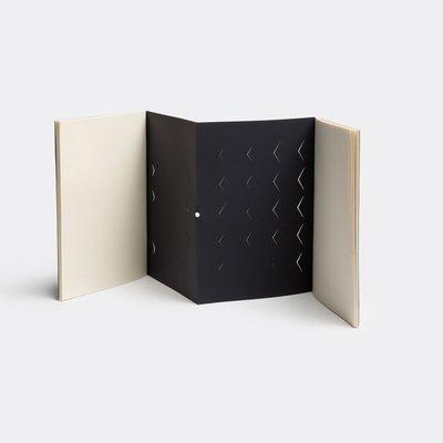 NOMESS Copenhagen Left-Right Notebook blauw A5 - Deens design