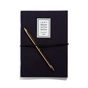 NOMESS Copenhagen Left-Right Notebook blauw A5