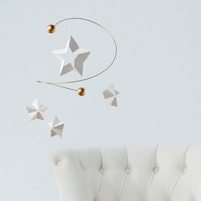 Flensted Mobiles Starry Night - handmade in Denmark