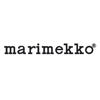 Marimekko Umpu Vaas Amber H20cm - mond-geblazen glas