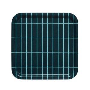 Marimekko dienblad Pieni Tiiliskivi groen 32x32cm