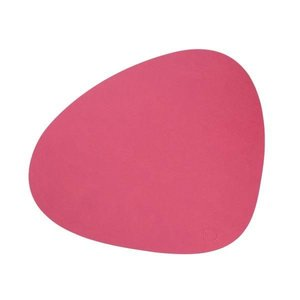 Lind DNA  Placemat Curve L Nupo Raspberry