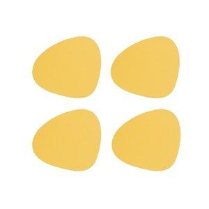 Lind DNA  Onderzetters Curve Nupo Yellow 4 stuks