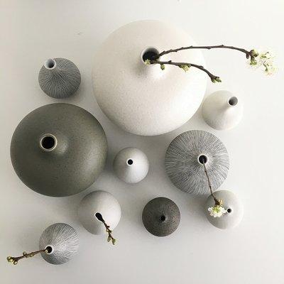 Lindform Vaas Athen S Wit -H10cm - handmade design