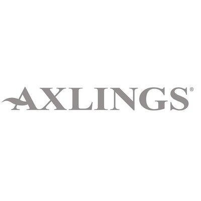 Axlings Theedoeken set Schack Ice Blue - linnen/katoen mix