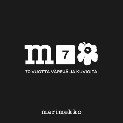 Marimekko Juhla Unikko mokken set z/w  - 70 years of art