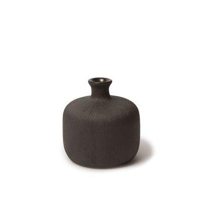 Lindform Vaasje Bottle black H7cm - Duuzaam & handmade