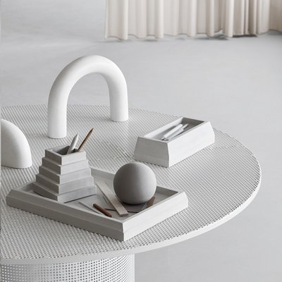 Kristina Dam Cupola Sculpture Off White - Modern Deens design