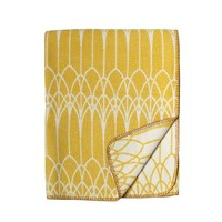 Lina Johansson Plaid Abbey yellow ocker - katoen