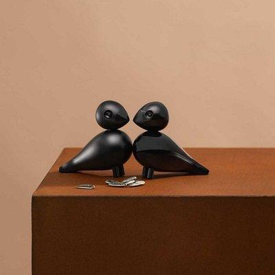 Kay Bojesen Love Birds Zwart - Danish design