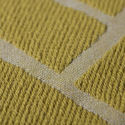 Lina Johansson Sprei Brick Yellow 260x260cm - 100% katoen