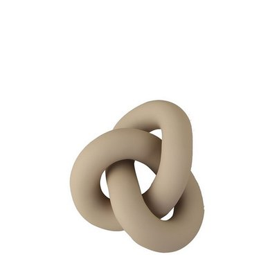 Cooee Design Knot Table large sand 19x15x9cm - Sculptuur