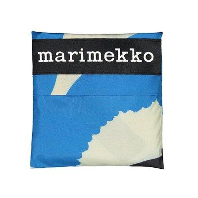 Marimekko Smartbag Unikko blauw - boodschappentas
