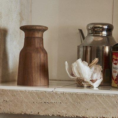 Skagerak Denmark Hammer kruidenmolen geolied teakhout peper-zoutmolen