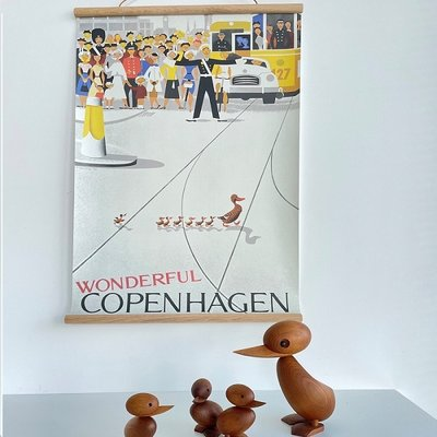 Architectmade Poster Wonderful Copenhagen 50x70cm - Viggo Vagnby