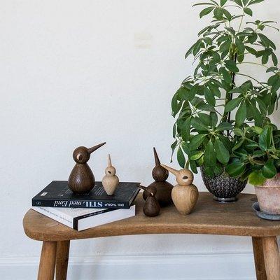 Architectmade Bird Chubby smoked H10,5cm - Deens design
