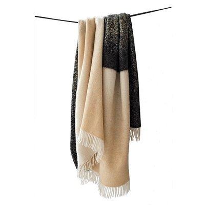 Lina Johansson Plaid Fade Sand - Scandinavian wool