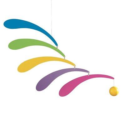 Flensted Mobiles Flowing Rhythm Rainbow 30x45cm
