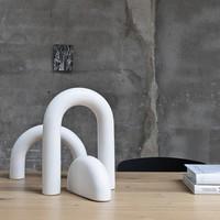 Kristina Dam Cupola Sculpture Off White