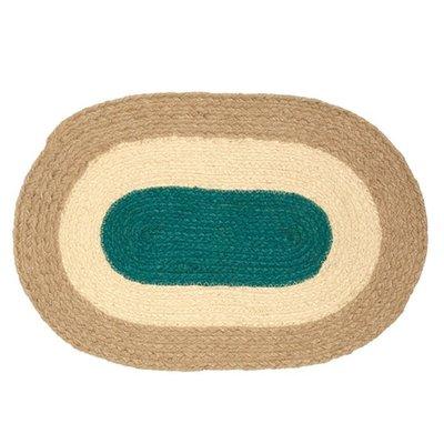 Marimekko Placemat Melooni ovaal jute - duurzaam Fins design