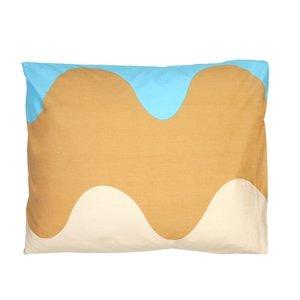 Marimekko Lokki Kussensloop 50x60cm blauw beige