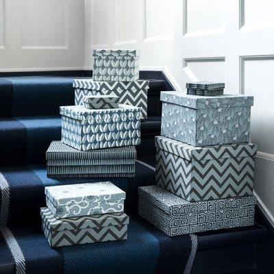 Bungalow DK Opberg dozen set Duo BOX Himala Ocean Blue
