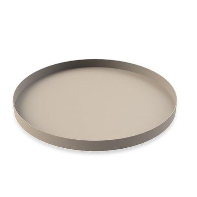 Cooee Design Tray Circle Sand Ø40cm - Modern Nordic