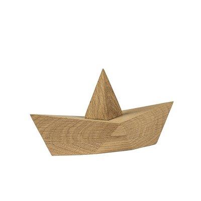 Boyhood Admiral small oak 14x7x5cm - Handmade Deens design