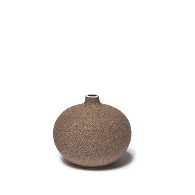 Lindform Bari vaasje Sand dark H6cm
