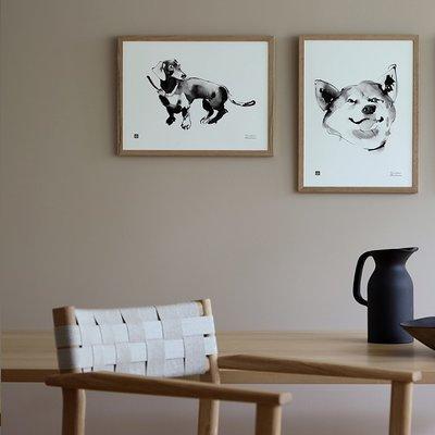 Teemu Järvi  Poster Happy 30x40cm - Fins design