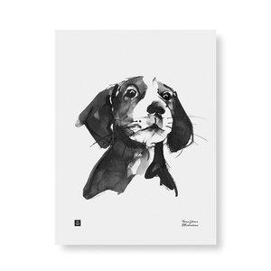 Teemu Järvi  Poster Hond - A treat, please?