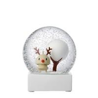 Hoptimist Sneeuwbol Reindeer H10cm