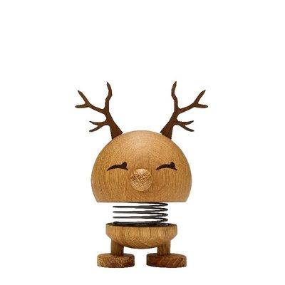 Hoptimist Reindeer Bimble Small H9cm Oak
