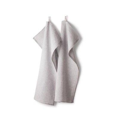 Axlings Keukendoeken Melerad grijs  - set van 2 stuks