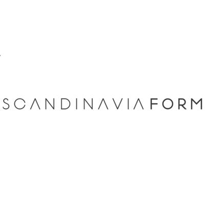 Scandinavia Form Glasilium Vaas zwart Ø38 x H56cm met W-O-W effect!
