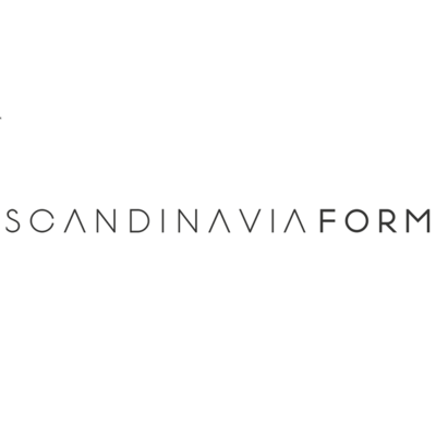 Scandinavia Form Glasilium Vaas zwart Ø120mm x H145 mm