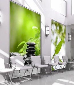 Textilspannrahmen beleuchtet  zur Wandbefestigung - 150 mm