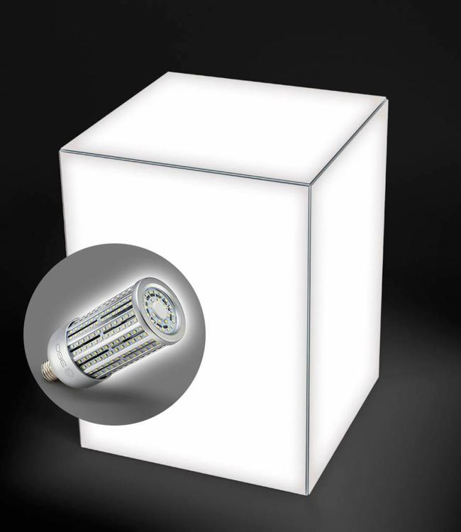 "Trade show cube ""light"" for trade shows and exhibitions with LED lamp"