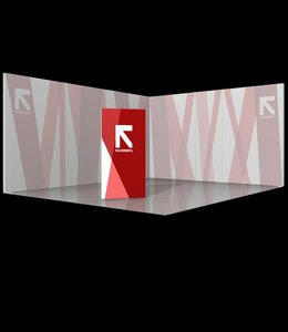 trade show stele free standing