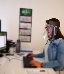 Face Shield - Gesichtsvisier für Ihren Arbeitsplatz