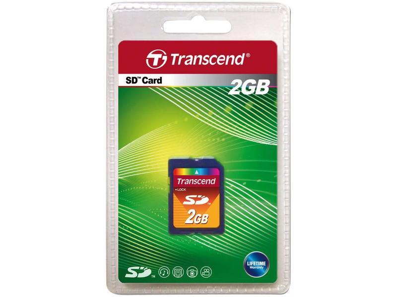 Transcend SD-card 2GB
