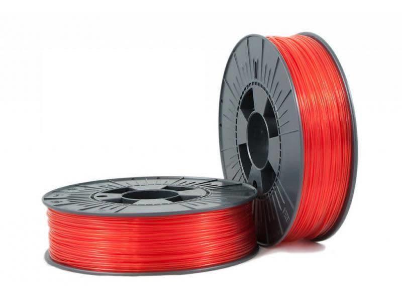 Makerfill PET-G Rood Transparant