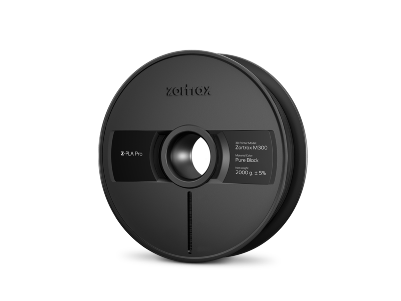 Zortrax Zortrax Z-PLA pro Pure Black 2KG for M300 plus