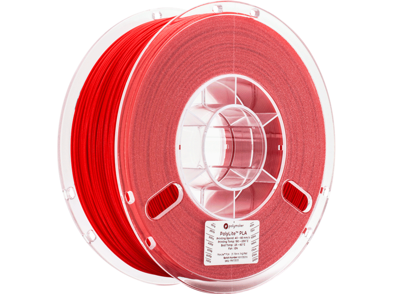 Polymaker Polylite PLA Rood