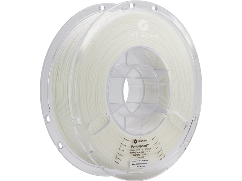 """Polymaker Polymaker """"Polysupport"""" Pearl White 750gr"""