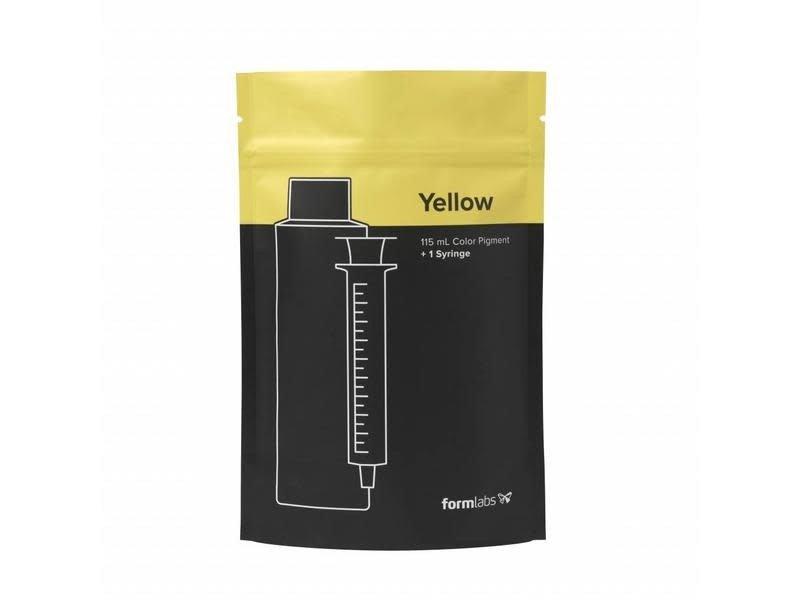 Formlabs Color Pigment Geel 115 ml Form 2