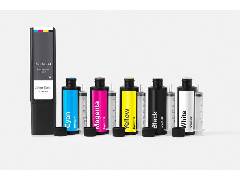 Formlabs Formlabs Color Pigment Cyaan 115 ml Form 2