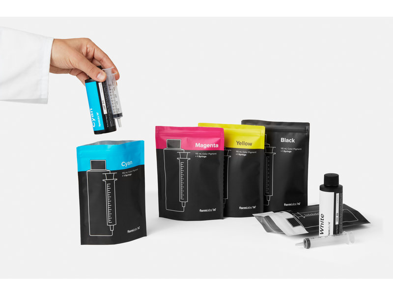 Formlabs Color Pigment Wit 115 ml Form 2