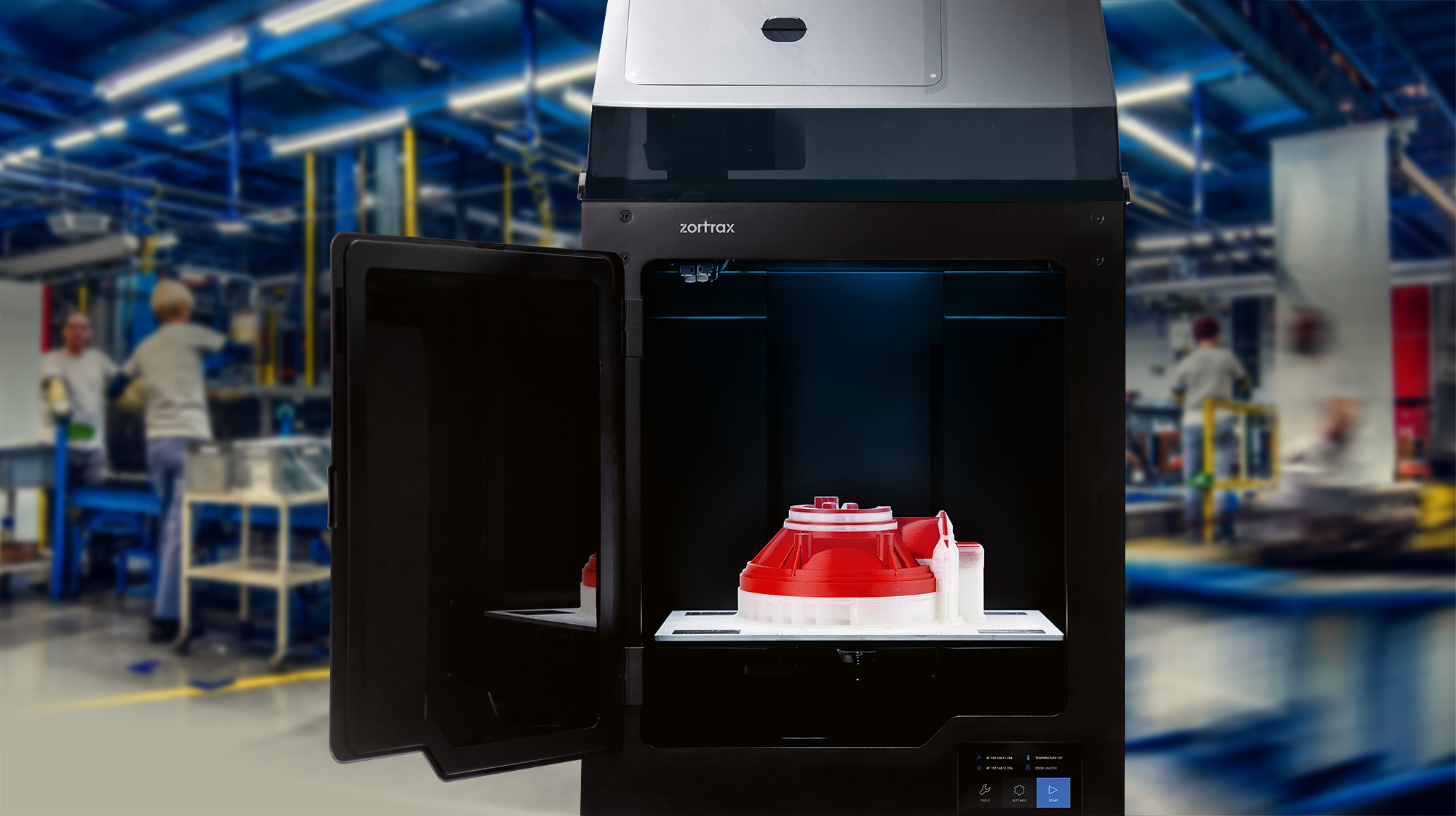Het bouwen van een groot-volume dual-extrusie 3D printer