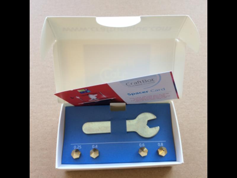 Craftunique Nozzle kit 2.0 Craftbot 3